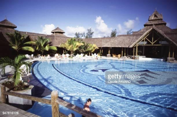 Piscine de l'hôtel Shandrani Resort sur l'île Maurice