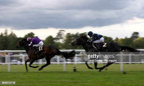 Pisco Sour ridden by jockey Jimmy Fortune comes home to win the Tercentenary Stakes during Day Three of the 2011 Royal Ascot Meeting