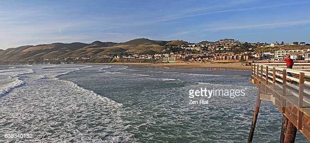 Pismo Beach Pier, Pismo State Beach, Pismo Beach city in San Luis Obispo County, California, USA