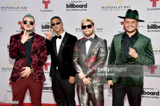 Piso 21 attends the 2019 Billboard Latin Music Awards at the Mandalay Bay Events Center on April 25 2019 in Las Vegas Nevada