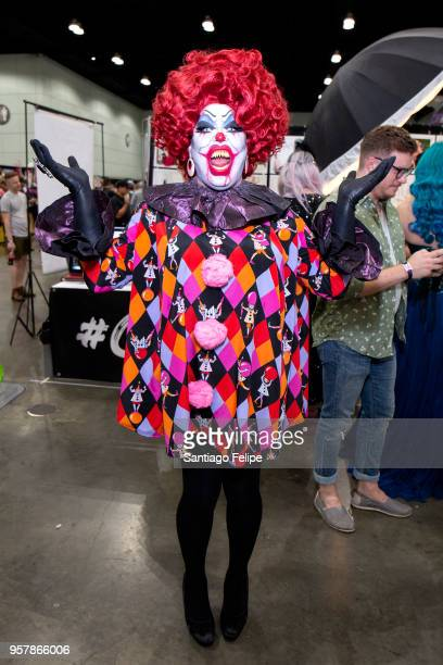 Pissi Myles attends the 4th Annual RuPaul's DragCon at Los Angeles Convention Center on May 12 2018 in Los Angeles California