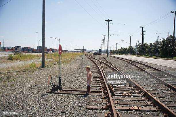 pissin on the tracks - urinating stock pictures, royalty-free photos & images