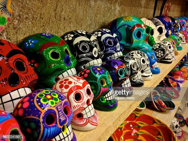 piste,mexico - day of the dead stock pictures, royalty-free photos & images