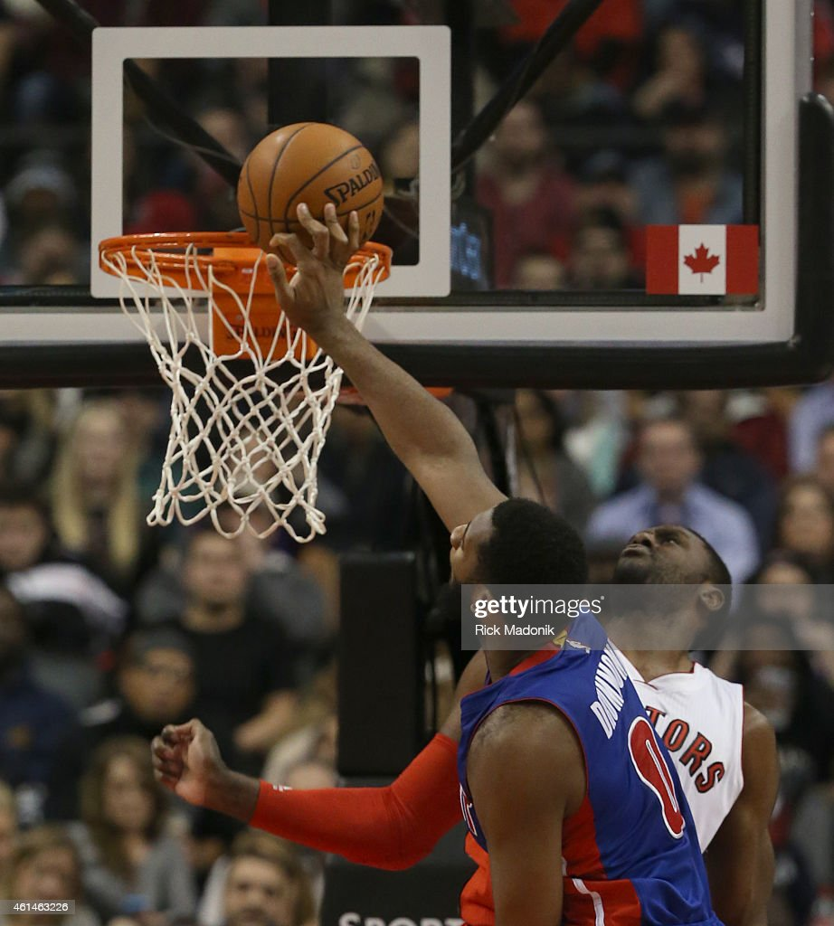 Toronto Raptors vs Detroit Pistons : News Photo