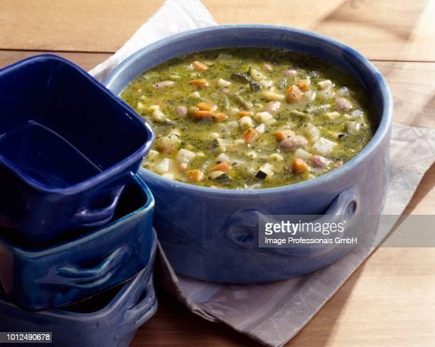 pistou soup - ピストー ストックフォトと画像