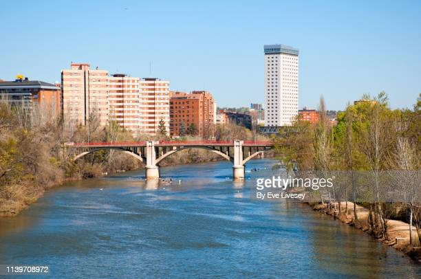 pisuerga river - valladolid spanish city stock pictures, royalty-free photos & images