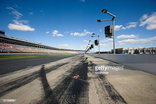 pit row - nascar stock pictures, royalty-free photos & images