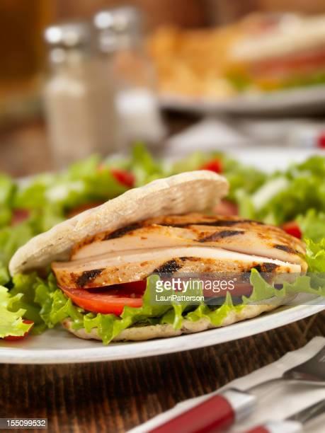 BBQ Pita Chicken Sandwich