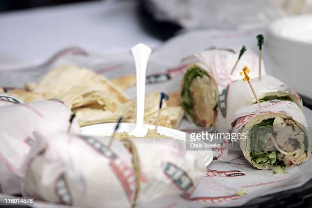 Pita Pit during Silver Spoon Hollywood Buffet Day 1 at Private Residence in Beverly Hills California United States Photo by Chris Weeks/WireImage for...