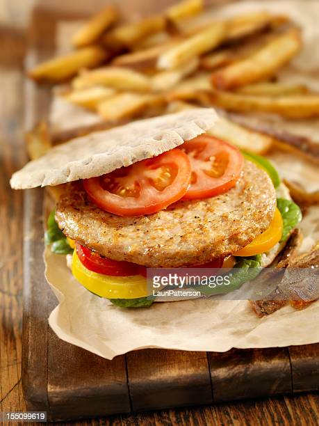 Pita Turkey Burger
