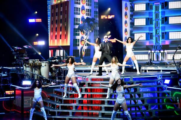 CA: Pitbull And Iggy Azalea In Concert At Shoreline Amphitheatre