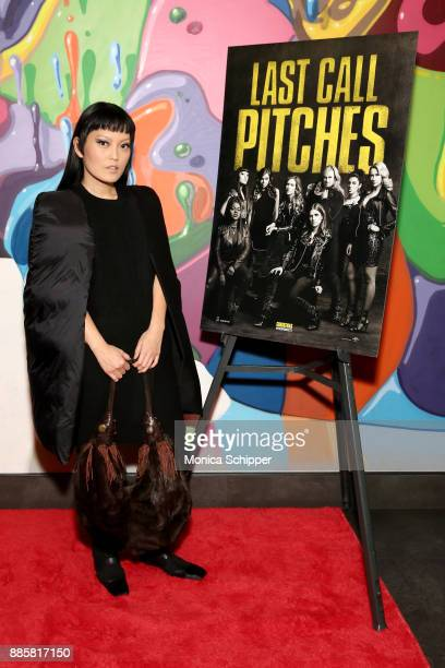 'Pitch Perfect 3' actress Hana Mae Lee attends the GrammyU screening and QA moderated by Angie Martinez on December 4 2017 in New York City