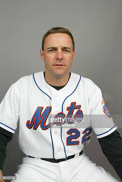 Pitcher Al Leiter of the New York Mets during Spring Training photo day February 29 2004 in Port St Lucie Florida