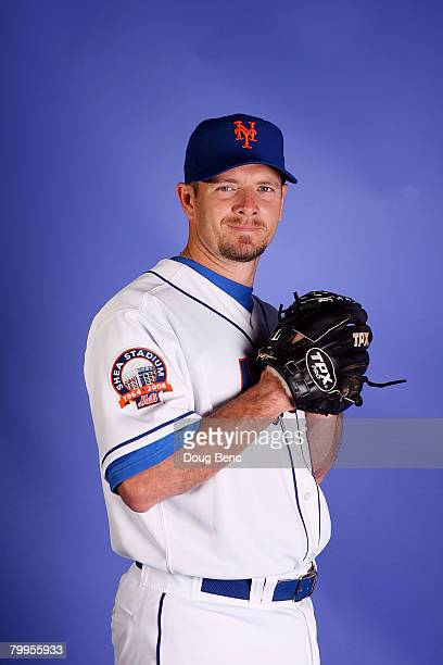 Pitcher Billy Wagner of the New York Mets poses during Spring Training Photo Day at Tradition Field February 23 2008 in Port Saint Lucie Florida