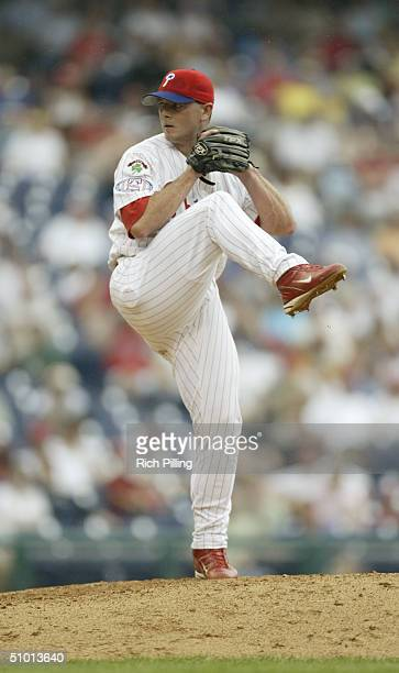 Pitcher Billy Wagner of the Philadelphia Phillies delivers against the Detroit Tigers during the interleague game at Citizens Bank Park on June 17...