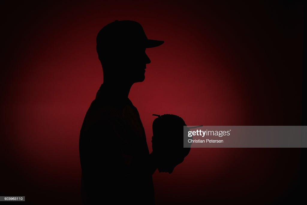 Pitcher Brad Boxberger #31 of the Arizona Diamondbacks poses for a portrait during photo day at Salt River Fields at Talking Stick on February 20, 2018 in Scottsdale, Arizona.