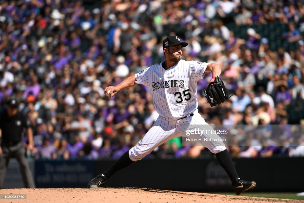 6c6c281bfcff3 Colorado Rockies take on the LA Dodgers at Coor Field in Denver ...