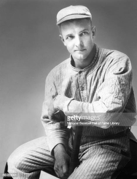 Pitcher Christy Mathewson of the New York Giants poses for a portrait Christy Mathewson played for the New York Giants from 19001916