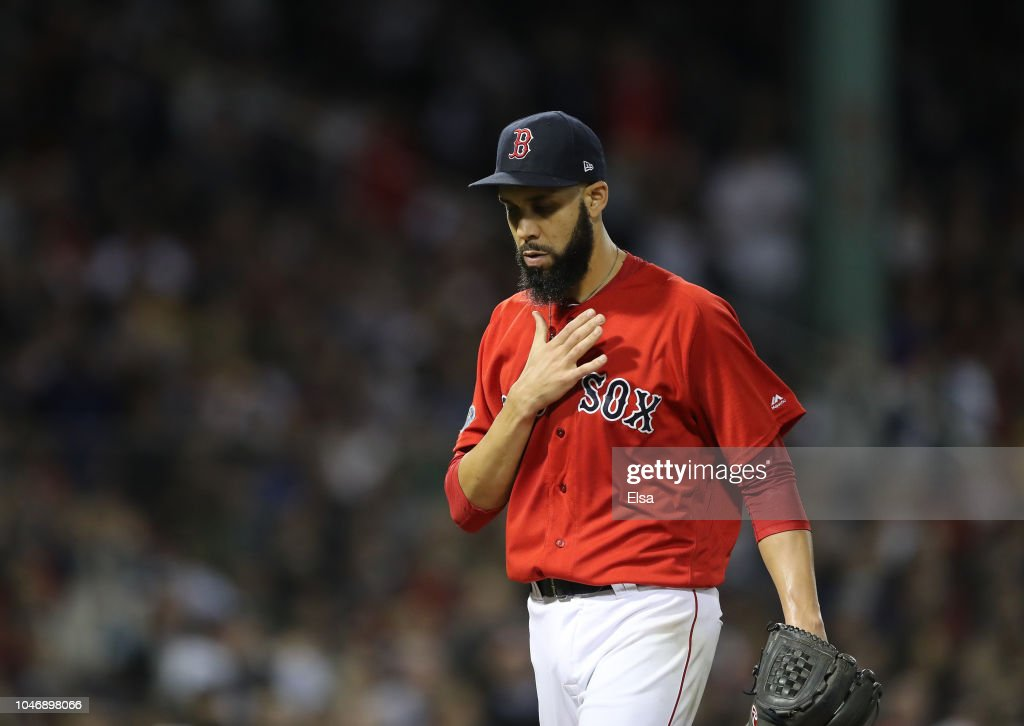 Divisional Round - New York Yankees v Boston Red Sox - Game Two : News Photo