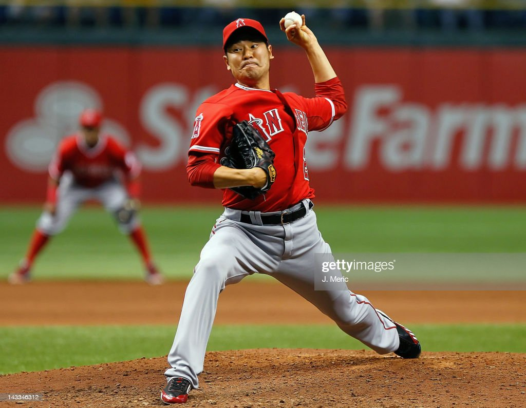 Los Angeles Angels of Anaheim v Tampa Bay Rays
