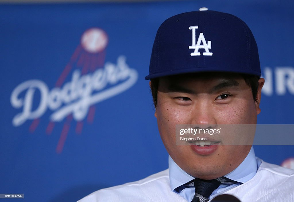 Los Angeles Dodgers Introduce Hyun-Jin Ryu