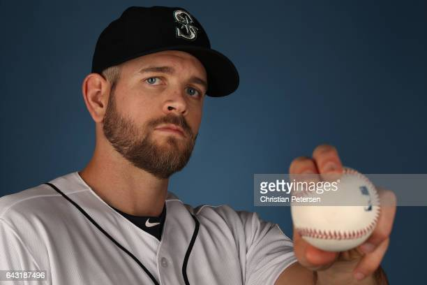 Pitcher James Paxton of the Seattle Mariners poses for a portrait during photo day at Peoria Stadium on February 20 2017 in Peoria Arizona