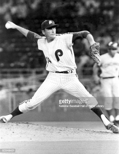 Pitcher Jim Bunning of the Philadelphia Phillies pitches during a game against the Cincinnati Reds James Paul David Bunning played for the Phillies...