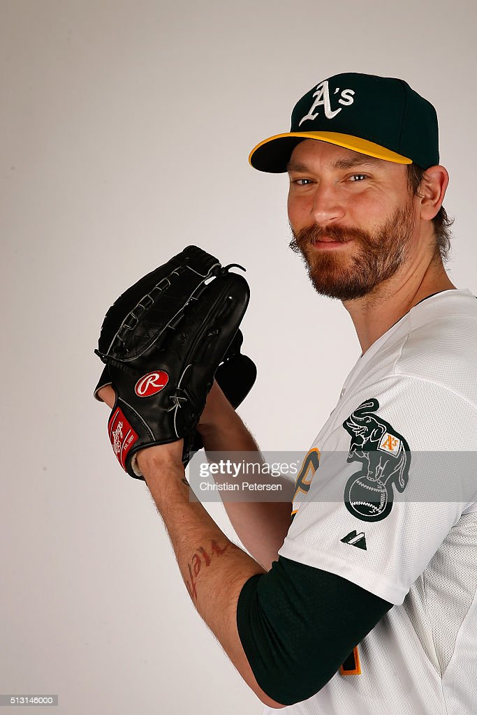 Oakland Athletics Photo Day : News Photo