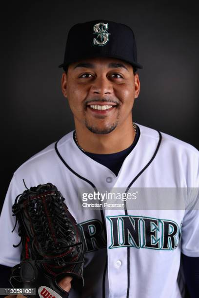 Pitcher Justus Sheffield of the Seattle Mariners poses for a portrait during photo day at Peoria Stadium on February 18 2019 in Peoria Arizona