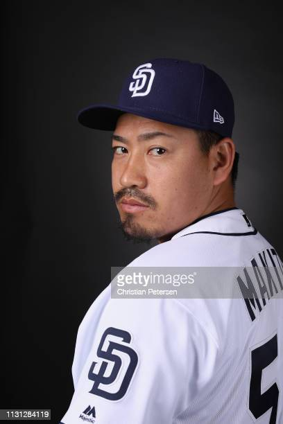 Pitcher Kazuhisa Makita of the San Diego Padres poses for a portrait during photo day at Peoria Stadium on February 21 2019 in Peoria Arizona