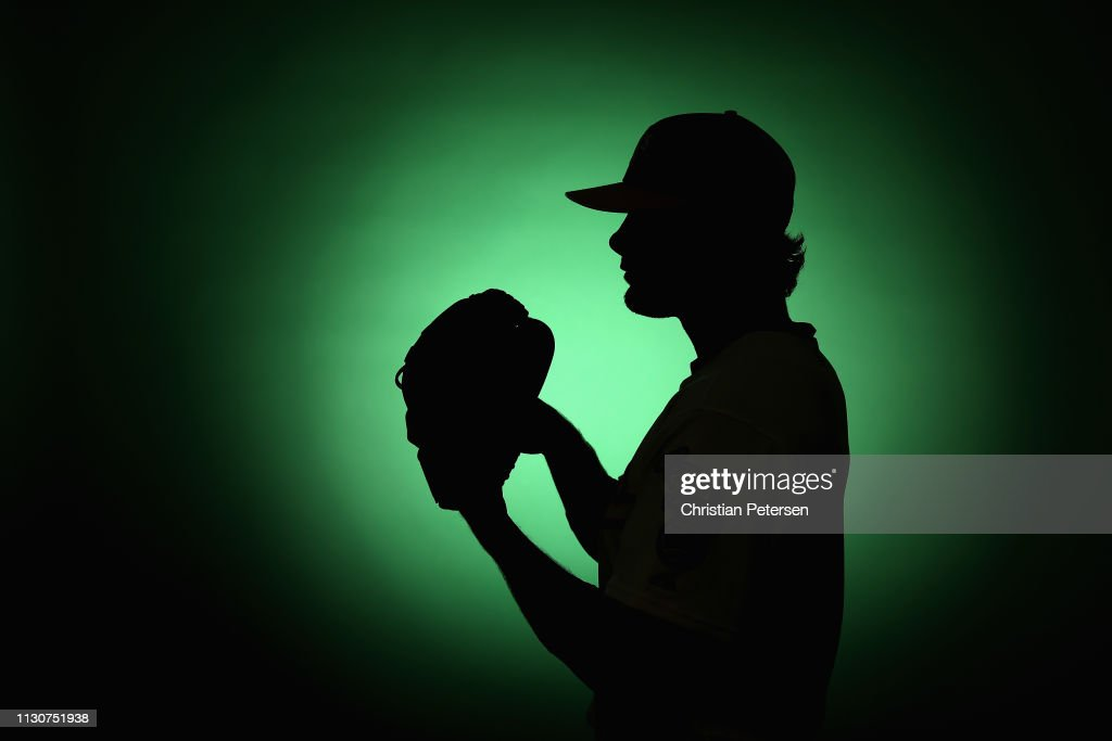 AZ: Oakland Athletics Photo Day