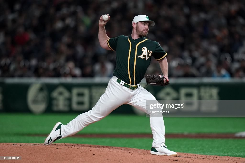 Hokkaido Nippon-Ham Fighters v Oakland Athletics : News Photo