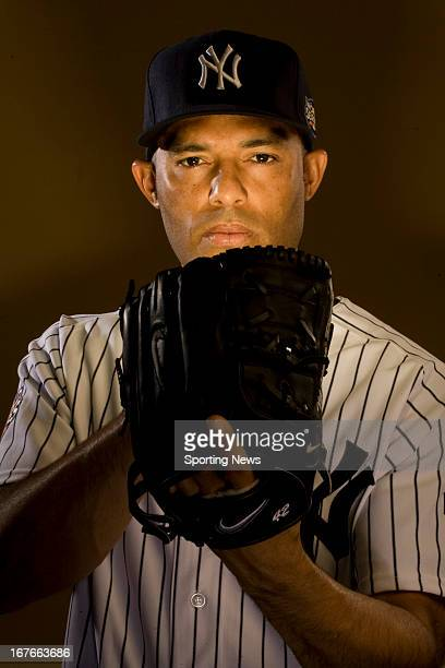 Pitcher Mariano Rivera of the New York Yankees poses for a portrait in his Rye New York home on December 3 2009