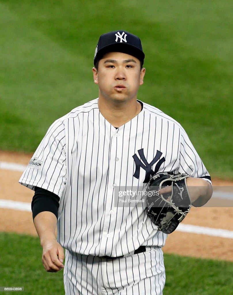 American League Championship Series - Houston Astros v New York Yankees - Game Five : News Photo