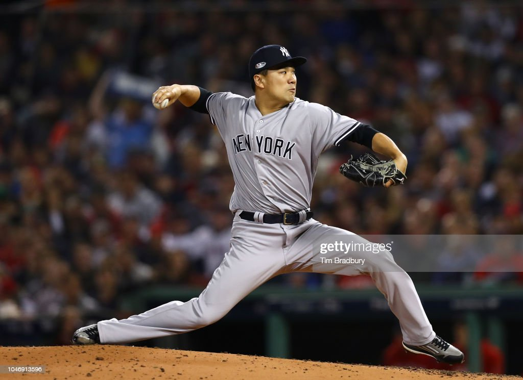 Divisional Round - New York Yankees v Boston Red Sox - Game Two : ニュース写真