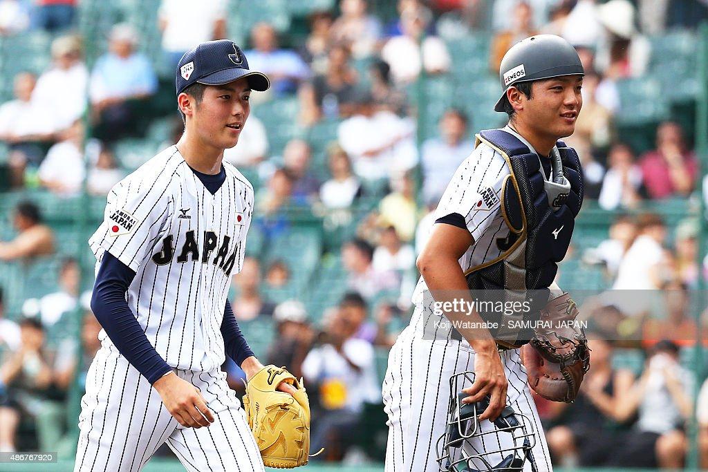 Japan v Cuba - Super Round - 2015 WBSC U-18 Baseball World Cup