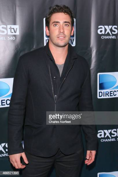 MLB pitcher Matt Harvey attends the DirecTV Super Saturday Night at Pier 40 on February 1 2014 in New York City