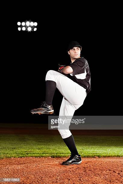 Pitcher (baseball action shot) on mound