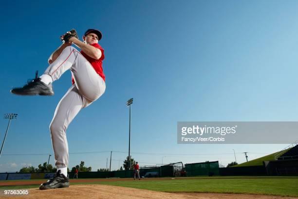Pitcher on mound