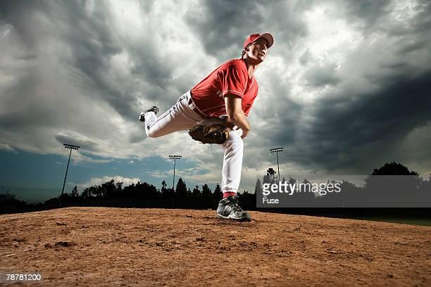 Pitcher Pitching Ball