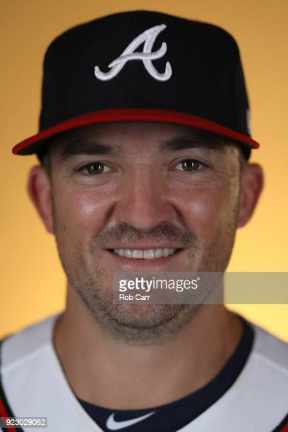 Pitcher Rex Brothers of the Atlanta Braves poses for a photo during photo days at Champion Stadium on February 22 2018 in Lake Buena Vista Florida