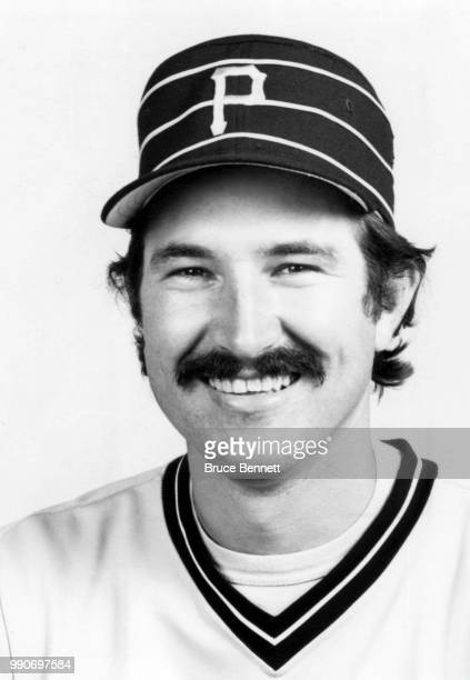 Pitcher Rick Rhoden of the Pittsburgh Pirates poses for a portrait during MLB Spring Training circa March 1983 in Bradenton Florida