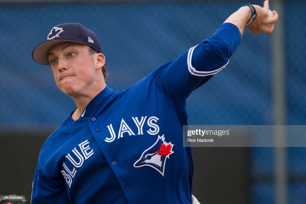 Toronto Blue Jays welcome : News Photo