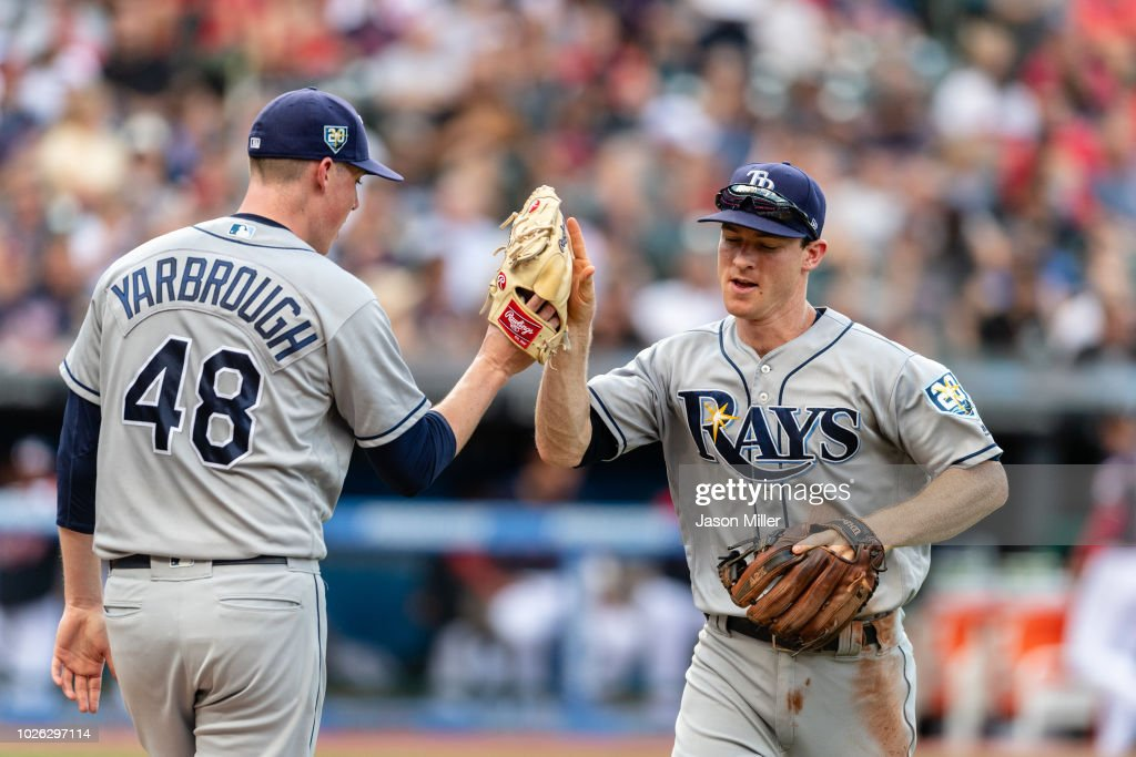 Tampa Bay Rays v Cleveland Indians : News Photo