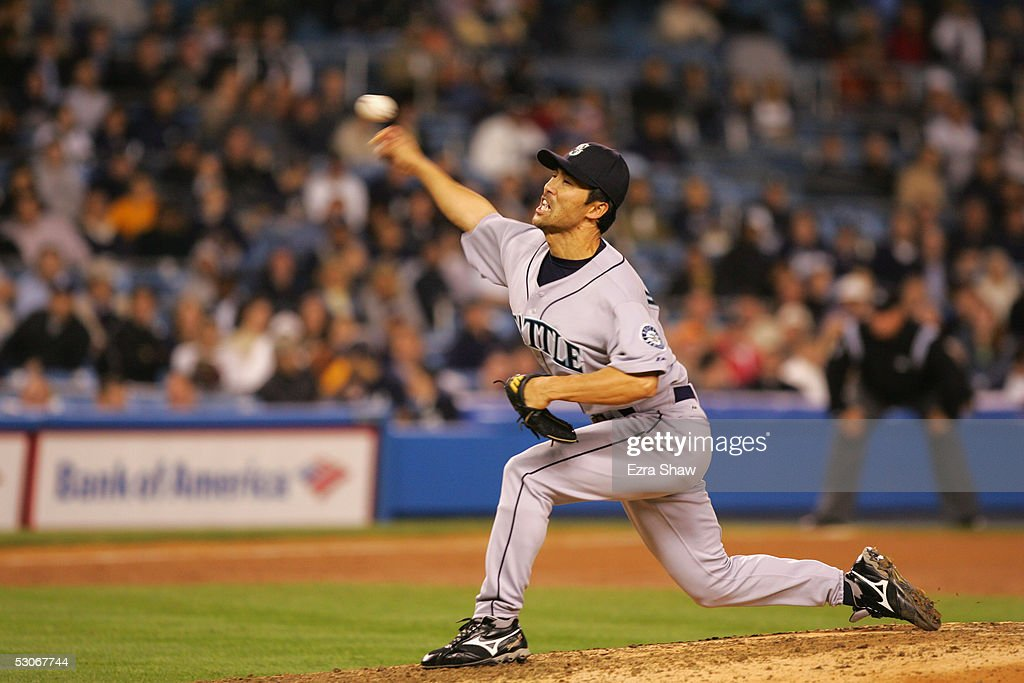 Seattle Mariners v New York Yankees : News Photo