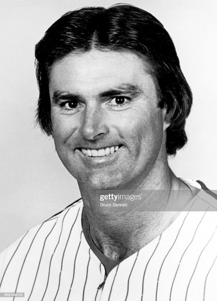 Pitcher Steve Carlton #32 of the Philadelphia Phillies poses for a portrait during Spring Training circa March, 1980 in Clearwater, Florida.