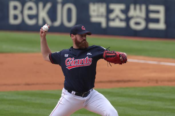 KOR: Lotte Giants v Doosan Bears