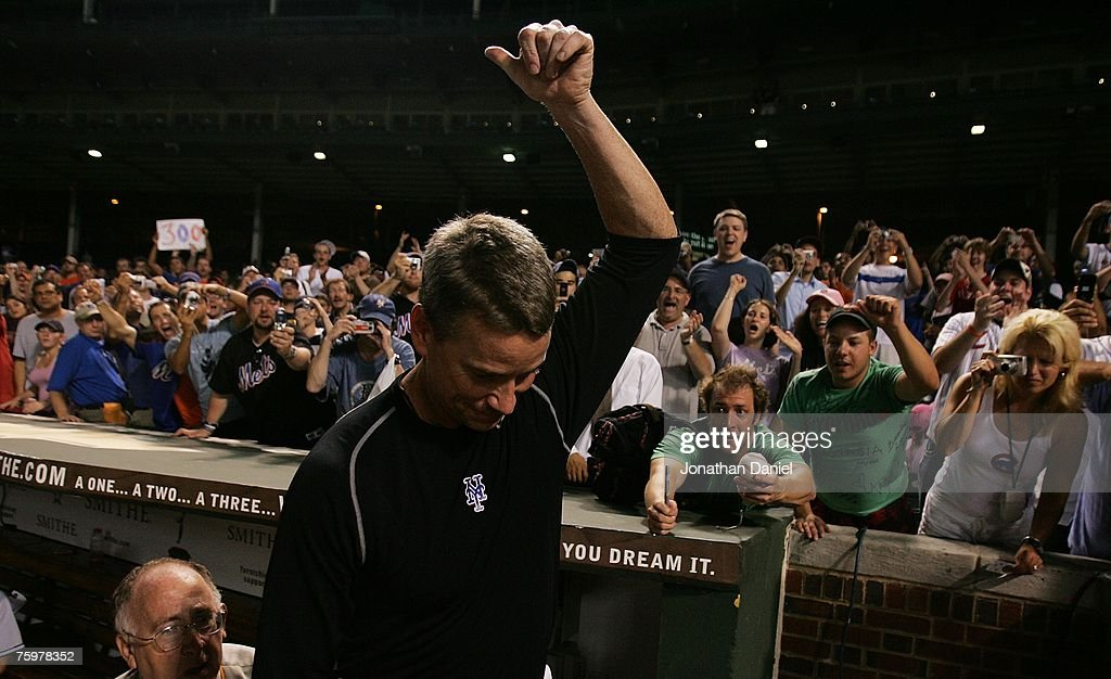 New York Mets v Chicago Cubs : News Photo