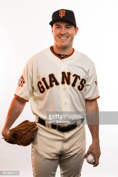 Pitcher Ty Black poses for a photo during the San Francisco Giants photo day on Tuesday Feb 20 2018 at Scottsdale Stadium in Scottsdale Ariz