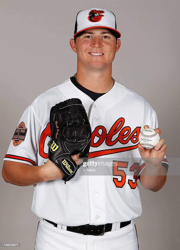 Pitcher Zach Britton #53 of the Baltimore Orioles poses for a photo during photo day at Ed Smith Stadium on March 1, 2011 in Sarasota, Florida.